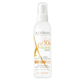 A-derma protect kids spray solar spf50+ 200 ml