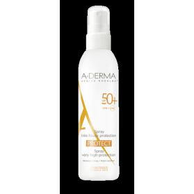 A-derma protect spray solar spf50+ 200 ml