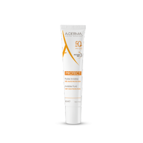 A-derma protect fluido invisible spf50+ 40 ml
