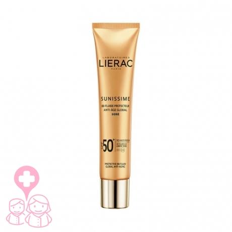 Lierac sunissime bb fluid spf50+ fluido protector color dorado 40ml