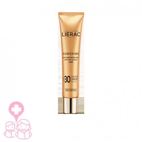 Lierac sunissime bb fluid spf30+ fluido protector color dorado 40ml