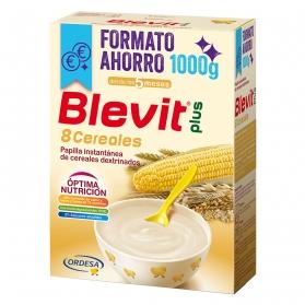 Blevit Plus 8 cereales Formato Ahorro 1000 gr