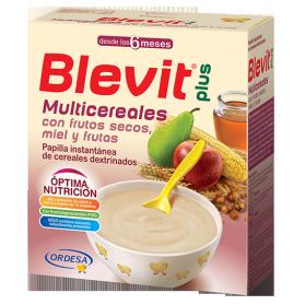 Blevit Plus Multicereales con frutos secos y miel 600 gr