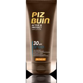 Piz Buin Active & Protect loción SPF30 100 ml resistente al sudor y agua