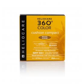 Heliocare 360º Cushion Compact SPF 50+ color Bronze Intense 15 gr