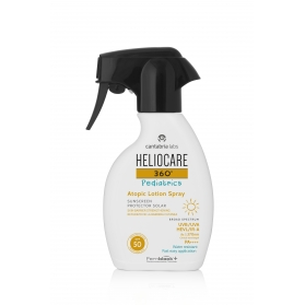 Heliocare 360º Pediatrics Atopic Lotion spray SPF50 250 ml piel atópica