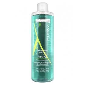 A-derma phys-ac gel limpiador purificante 400 ml