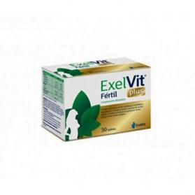 Exelvit Fértil PLUS fertilidad femenina 30 sobres con Mioinositol