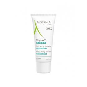 A-derma phys-ac hydra crema hidratante compensadora 40 ml