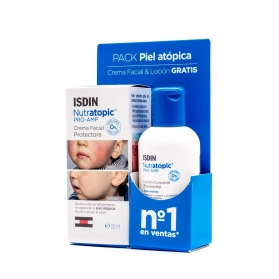 Isdin Nutratopic Pro-AMP crema facial 50ml + loción 100 ml