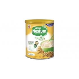 Nestlé Nestum papilla 5 cereales Superfibra lata 650 gr
