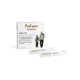 Profaes4 dual-vit 30 sticks con lab4 y vitamina c