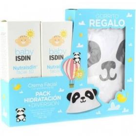 Nutraisdin pack hidratante facial spf 30 piel sensible 50 ml + regalo gorrito
