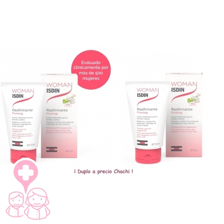 Woman Isdin DUPLO crema reafirmante 2x150 ml