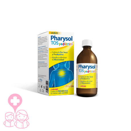 Pharysol Tos Pediátrico jarabe natural para la tos 175 ml