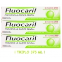 Fluocaril TRIPLO pasta dental 3x125 ml TOTAL 375 ml