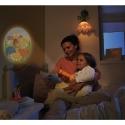 Haba linterna proyectora pequeña luciérnaga