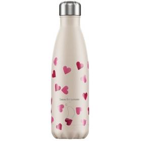 Chilly´s bottle corazones emma bridgewater botella termo 500 ml