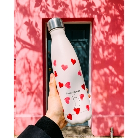 Chilly´s bottle corazones emma bridgewater botella termo 500 ml