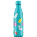 Chilly´s Bottle Pool Party Azul botella termo 500 ml