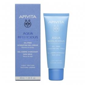 Apivita Aqua Beelicious crema hidratante comfort textura ligera