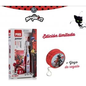 PHB Lady Bug Pack Junior cepillo+ pasta 75 ml + Yoyo de REGALO