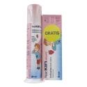 Fluor kin infantil pasta dosificadora + pasta gratis 50 ml