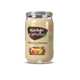 Nutriben ECO potitos plátano y manzana  235 g