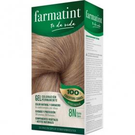 Farmatint 8n rubio claro tinte para cabello 150 ml