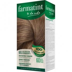 Farmatint 6d rubio oscur dorado tinte para cabello 150 ml