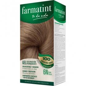 Farmatint 6n rubio oscuro tinte para cabello 150 ml
