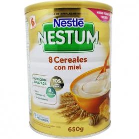 Nestlé Nestum papilla 8 cereales con miel 600 gr