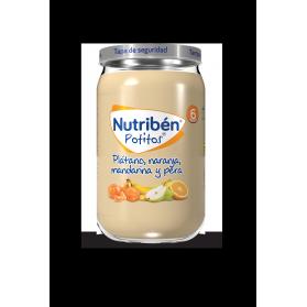 Nutribén Potitos Plátano, naranja, mandarina y pera 235 g