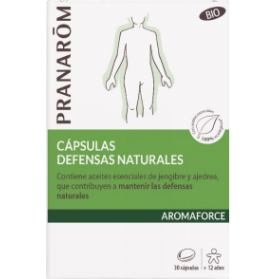 Pranarom Aromaforce defensas naturales BIO 30 cápsulas
