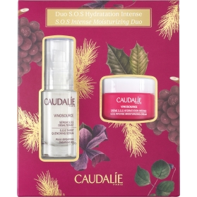 Caudalie cofre vinosource sérum 30 ml + crema sos 25 ml