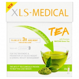 Xls medical tea 30 sobres con té matcha y litramine