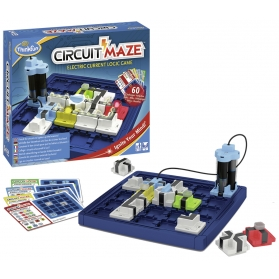 Think fun circuit maze