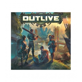 Outlive juego de mesa de supervivencia
