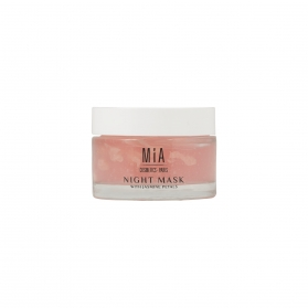 Mia cosmetics flowell collection night mask con pétalos de jazmín