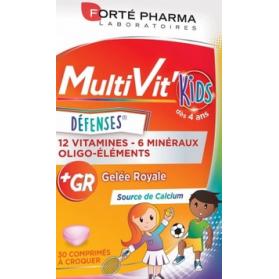 Forté Pharma Energy Multivit junior 30 comprimidos masticables