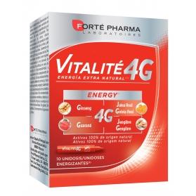 Forté pharma energy vitalité 4g  10 unidosis fatiga y vigor