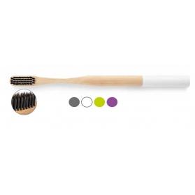 Vamboo cepillo dental con cerdas recubiertas de carbón activado