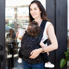 Tula Half Buckle Discover portabebé híbrido Mochila & Mei Tai