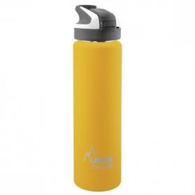 Laken summit botella térmica tapón automático 12h 0,75l color amarillo
