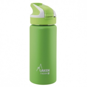 Laken summit botella térmica tapón automático 12h 0,5l color verde