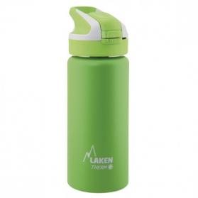 Laken summit botella térmica tapón automático 12h 0,5l color verde