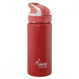 Laken summit botella térmica tapón automático 12h 0,5l color rojo