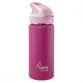 Laken summit botella térmica tapón automático 12h 0,5l color rosa