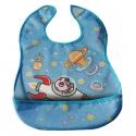 Laken junior babero impermeable con bolsillo astro baby