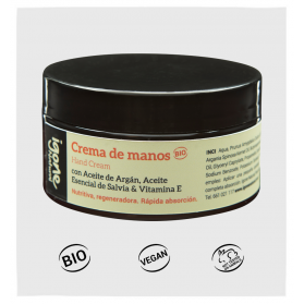 Igone natural crema de manos de salvia y argan bio 100 ml